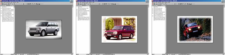 Я. Range Rover - New Range Rover,Defender,Discovery II, FreeLander 01MY= 2000-2003 Все регионы Win 98...